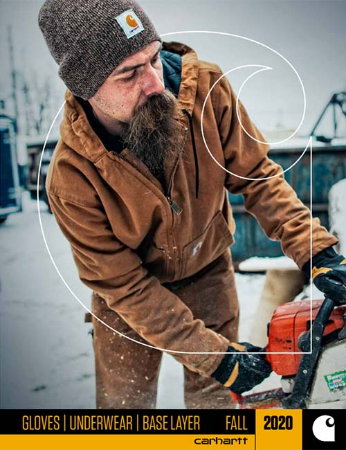 Carhartt Gloves Fall 2019 Catalog
